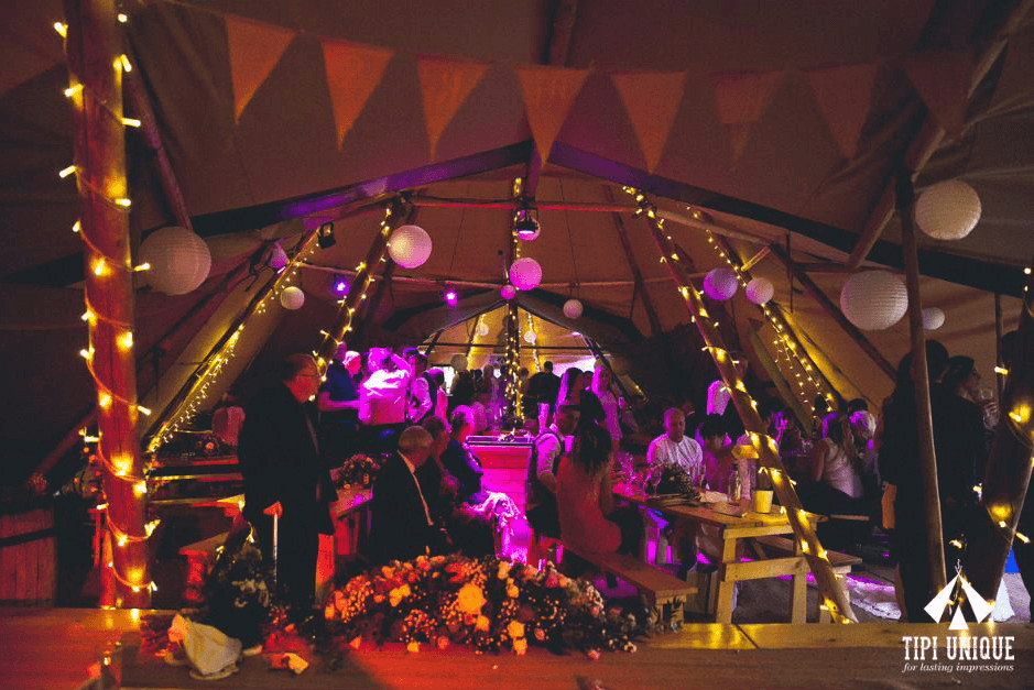Tipis By Twilight