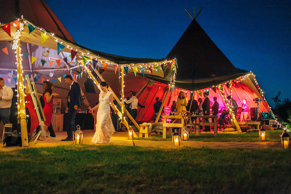 Tipi Unique Wedding Venue