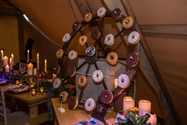 Donut Wheel
