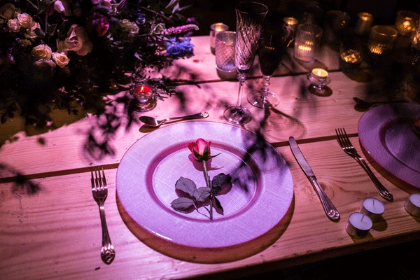 Plate & Flower