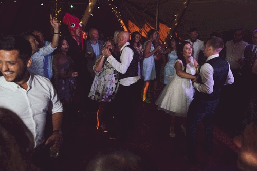 The First Dance With All Involved