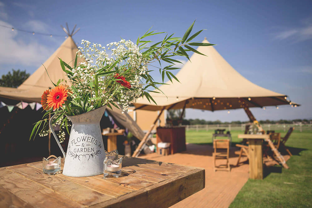 Tipi Unique Wedding open days