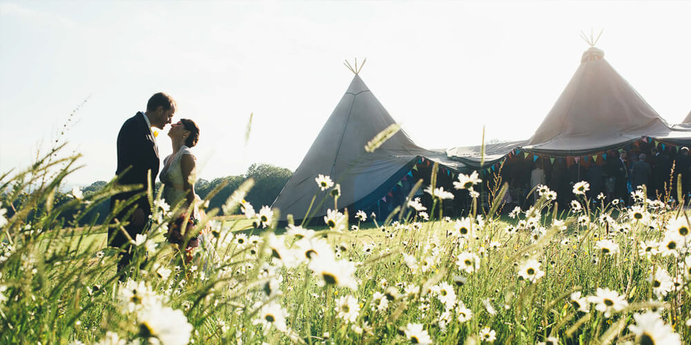 Tipi Unique Weddings Cheshire