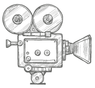 film camera illustration