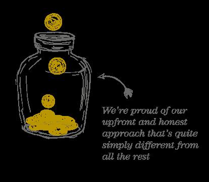 our approach cash