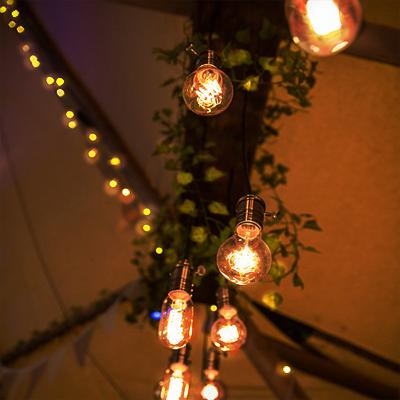 Tipi Unique_Banner_4m edison lightbulb display
