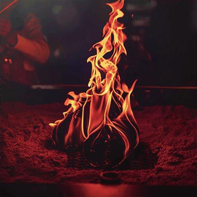 Tipi Unique_Banner_Ethanol fire-pit